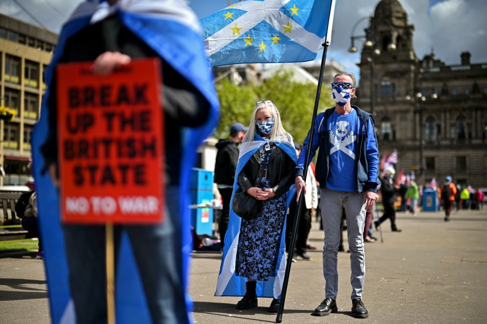 Now Scotland Leads Day Of Action For Independence