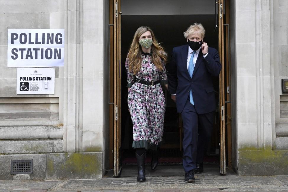 Parlamentswahlen in Großbritannien - England
