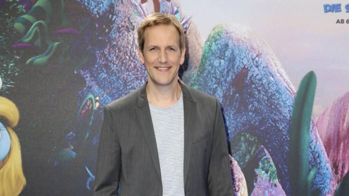 Jan Hahn bei der Premiere des Kinofilms Die Schlümpfe Das verlorene Dorf im Cinestar Sony Center