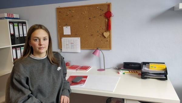Abiturientengespräch Grafing, Melissa Dewar,