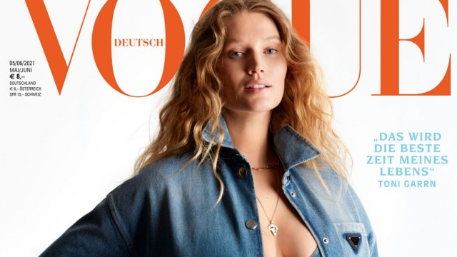 Schwangeres Model Toni Garrn in der 'Vogue'