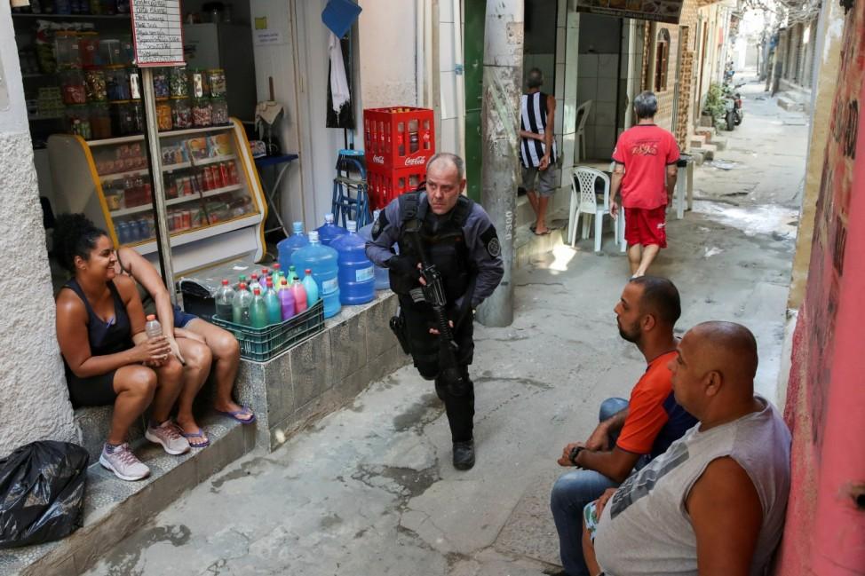 Police operation at Jacarezinho slum in Rio de Janeiro