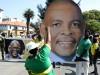 Er hat noch viele Anhänger: Ace Magashule, der sein Amt als ANC-Generalsekretär ruhen lässt.