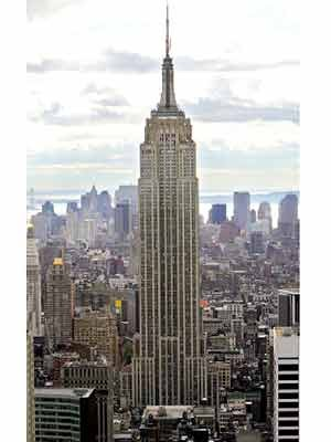 Empire State Building, Reuters