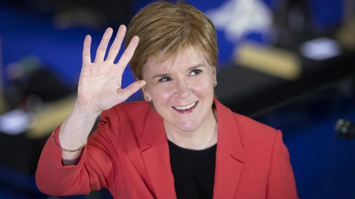 Parlamentswahlen in Schottland