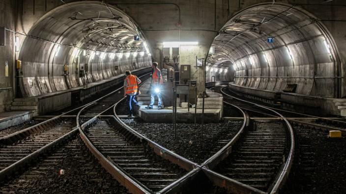 Tunnelbegehung in Frankfurt/Main