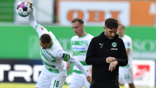 08.05.2021 - Fussball - Saison 2019 2020 - 2. Fussball - Bundesliga - 31. Spieltag: SpVgg Greuther Fürth ( Kleeblatt ) -