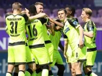 Aue - Paderborn / 09.05.2021 Aue, 09.05.2021, Erzgebirgsstadion, Fussball, 2.Bundesliga, 32.Spieltag , FC Erzgebirge Aue