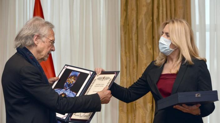 Literaturnobelpreisträger Handke ausgezeichnet