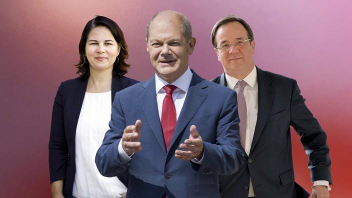 Die Kanzlerkandidaten