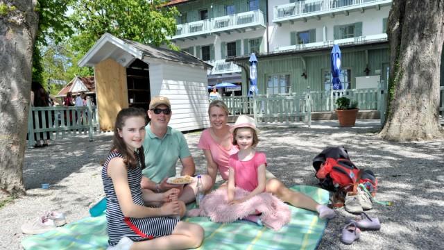 Herrsching Seehof - Picknick im Biergarten