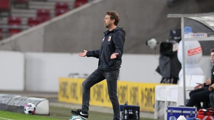 Chef-Trainer Markus Weinzierl (FC Augsburg), VfB Stuttgart vs. FC Augsburg, 32. Spieltag, 1.Bundesliga, 07.05.2021, DFB