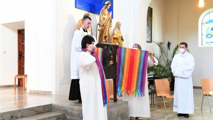 Segnung homosexueller Paare in München