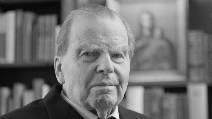 Karl-Günther von Hase wird 90