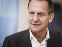 Kienbaum Deutschland 18 07 2017 Alfons Hörmann DOSB Präsident bei einer Pressekonferenz beim So