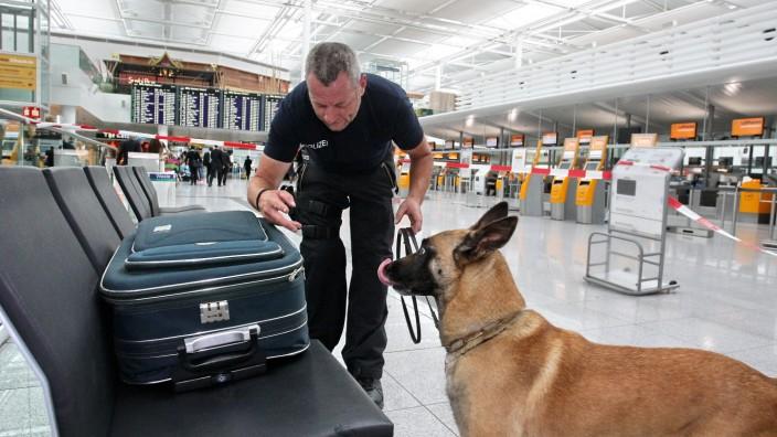 Sondergebiet inErding: Die Bundespolizei am Flughafen München hat viel zu tun. Viele Bundespolizisten bleiben nur für eine bestimmte Zeit dort. Das Interesse der Bima, in Erding Appartements anzumieten, war jedoch nie sehr groß.