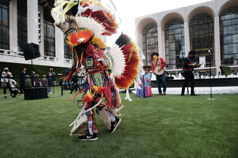 New York's Famed Lincoln Center Opens Spaces Up For Outdoor Concerts