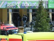 Russland: Mehrere Tote nach Schüssen in einer Schule in Kasan