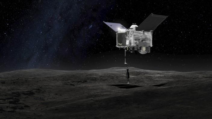 Nasa-Sonde auf dem Weg zurück zur Erde