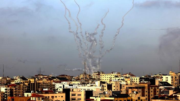 Nahost: Am Dienstag feuerte die Hamas von Gaza aus Raketen Richtung Israel.