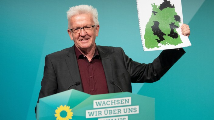 Baden-Württemberg: Ministerpräsident Winfried Kretschmann