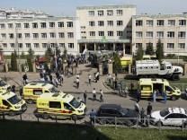 Russland: Bewaffneter Angriff auf Gymnasium Nr. 175