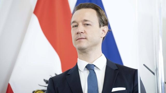 Pressestatements im Bundeskanzleramt Wien *** Austria: Press statements in the Federal Chancellery Vienna Bundeskanzlera
