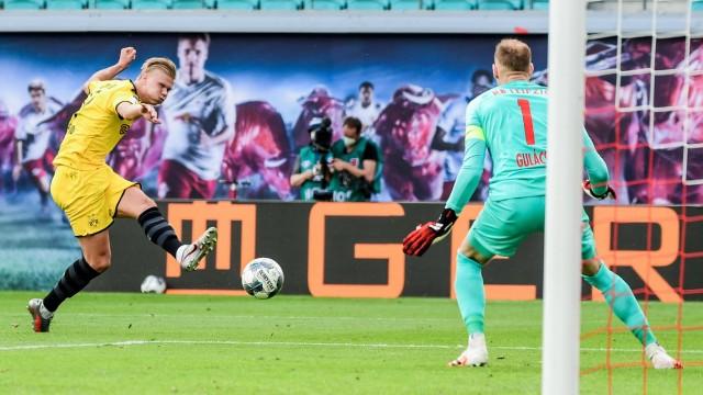 Soccer 1st Bundesliga, RB Leipzig - Borussia Dortmund 20.06.2020, xkvx, Soccer 1st Bundesliga, RB Leipzig - Borussia Do;  Soccer