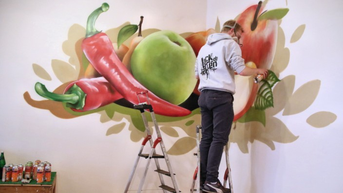 Graffiti auf Bestellung