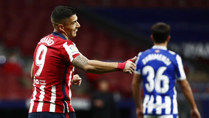 La Liga Santander - Atletico Madrid v Real Sociedad