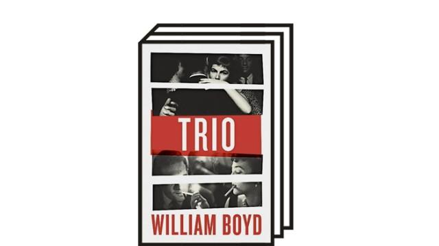 """William Boyds Roman """"Trio"""": William Boyd: Trio. Roman. Aus dem Englischen von Patricia Klobosiczky und Ulrike Tiesmeyer. Kampa, Zürich 2021. 424 Seiten, 22 Euro."""