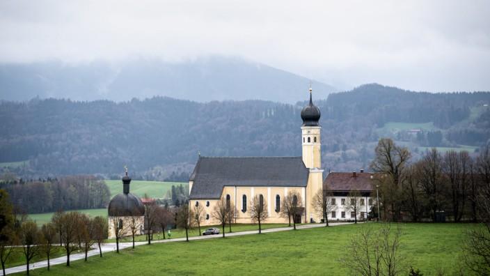 Verregneter Tag in Oberbayern