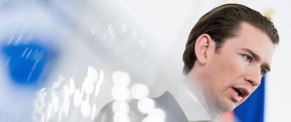 Österreich Sebastian Kurz Falschaussage