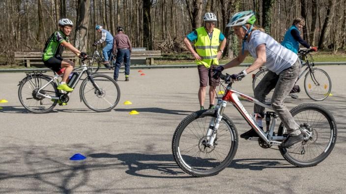 ADFC Fahrtraining E Bike, Fahrrad