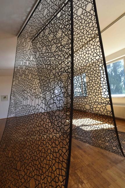 Ausstellung: Ergül Cengiz experimentiert mit dem traditionell-islamischen Girih-Muster.