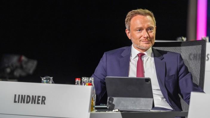 14.05.2021,Berlin,Deutschland,GER,Bundesparteitag der FDP.Christian Lindner *** 14 05 2021,Berlin,Germany,GER,Federal P