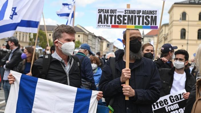 Demos gegen den Nahostkonflikt in München