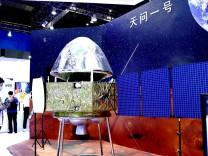 Raumfahrt: China gelingt erste Landung auf dem Mars