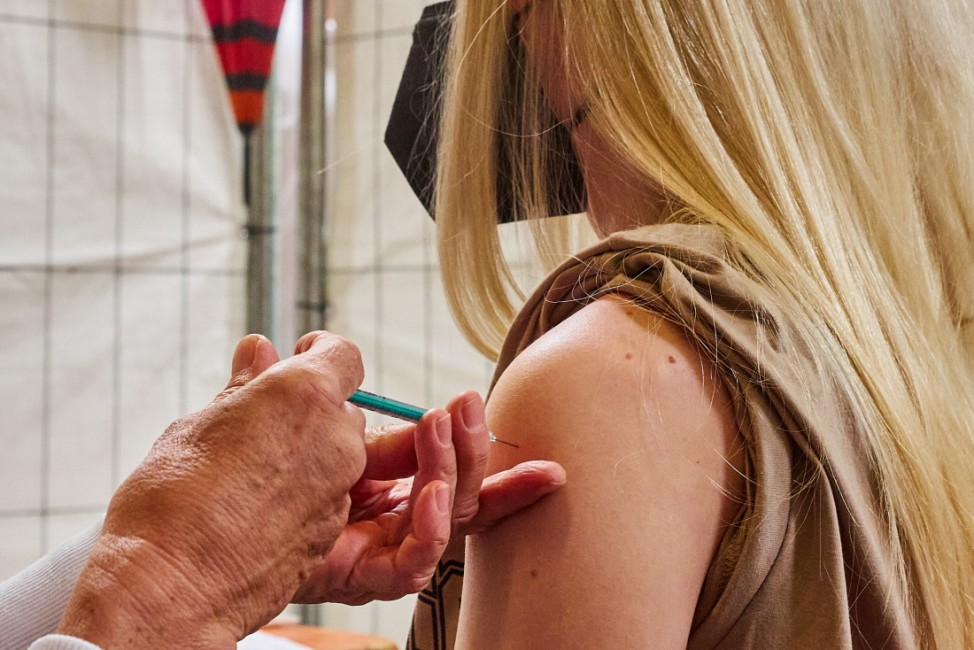 Astra Zeneca Impfaktion Ebersberg Volksfesthalle und TG Impfzentrum