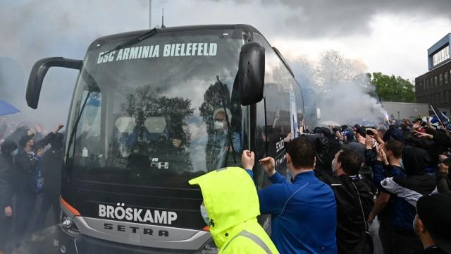 Bielefeld, Schueco Arena, 15.05.21, GER, Herren, 1.Bundesliga, Saison 2020-2021, DSC Arminia Bielefeld - TSG 1899 Hoffen