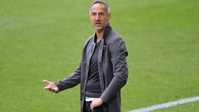 Trainer Adi Hütter (Eintracht Frankfurt) 15.05.2021, Fussball GER, Saison 2020 2021, 1. Bundesliga, 33. Spieltag, FC Sch
