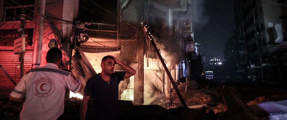 Gazastreifen, Nahostkonflikt, Israel