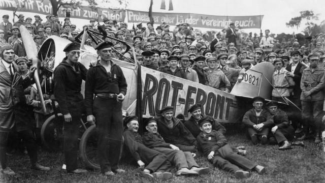 Treffen des Rotfront-Bundes in Berlin, 1926