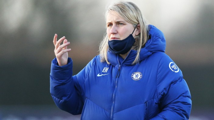 Emma Hayes File photo dated 17-03-2021 of Chelsea manager Emma Hayes. Issue date: Saturday May 8, 2021. FILE PHOTO EDITO; Hayes