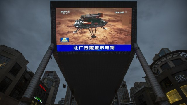China - Landung auf dem Mars