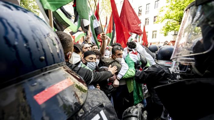 Pro-Palästinensische Demonstrationen - Berlin