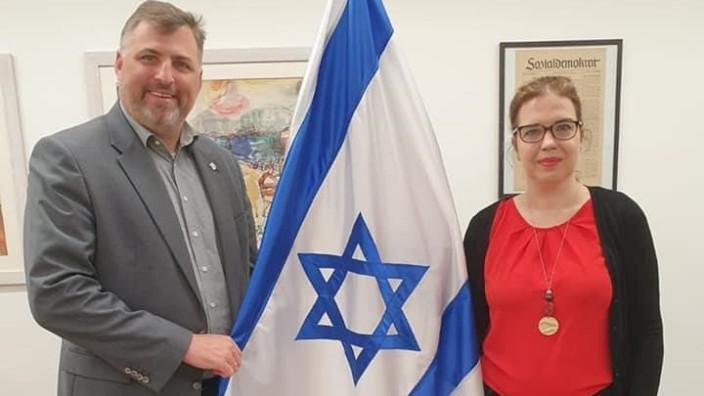 Solidaritätsbesuch bei der israelischen Generalkonsulin