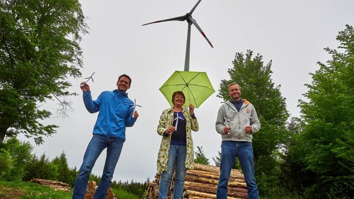 GRÜNE zu Windkraft im Forst Bürgerentscheid