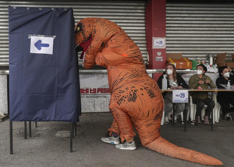 Wahl in Santiago de Chile über die Versammlung, die eine neue Verfassung ausarbeiten soll.