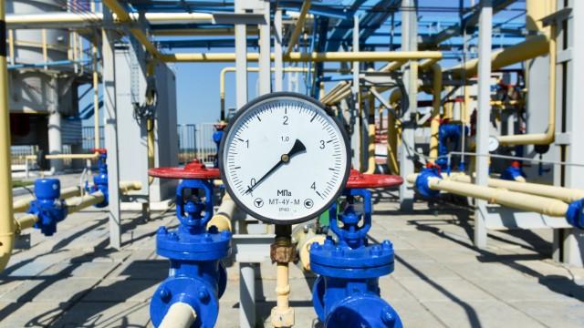 compressor station of Ukraine's Naftogaz national oil and gas company near the northeastern Ukrainian city of Kharkiv